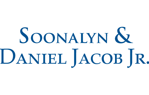 Soonalyn and Daniel Jacob Jr.